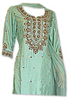 Light Green Jamawar Suit