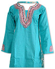 Sea Green/Skin Cotton Khaddar Suit