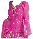 Hot Pink Chiffon Trouser Suit- Indian Dress