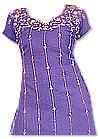 Purple Georgette Trouser Suit
