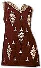 Dark Brown Georgette Trouser Suit- Indian Semi Party Dress