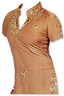 Light Brown Georgette Trouser Suit- Pakistani Casual Clothes
