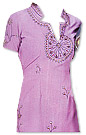 Light Purple Georgette Trouser Suit- Pakistani Casual Clothes