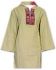 Skin Cotton Khaddar Suit- Pakistani Casual Clothes