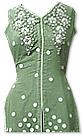 Green Crinkle Chiffon Suit