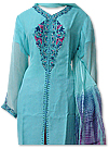 Sea Green/Pink Chiffon Suit- Indian Dress