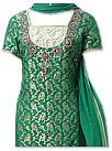 Green Jamawar Zarri Suit