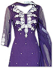 Purple Chiffon Suit
