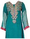 Sea Green Chiffon Suit - Indian Dress