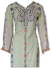 Light Green Chiffon Jamawar Suit