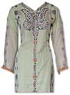 Light Green Chiffon Jamawar Suit- Indian Dress
