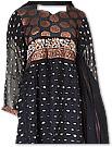 Black Chiffon Jamawar Suit - Indian Semi Party Dress