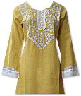 Yellow/White Khaddar Suit