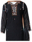 Black/Cream Chiffon Suit  - Indian Dress