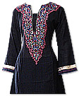 Black Khaddar Suit