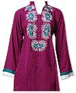 Magenta Linen Suit- Pakistani Casual Dress