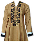 Mustard Linen Suit - Pakistani Casual Dress