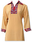 Cream/Maroon Georgette Suit- Pakistani Casual Clothes