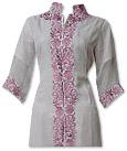 Ivory Chiffon Suit - Indian Dress