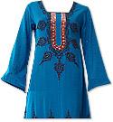 Blue Georgette Suit - Indian Dress