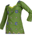 Green Georgette Suit- Pakistani Casual Clothes