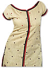 Light Golden/Black Georgette Suit - Pakistani Casual Dress