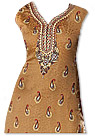 Brown/Maroon Georgette Suit  - Pakistani Casual Dress