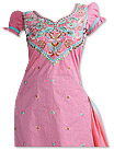 Pink/Sea Green Cotton Suit  - Pakistani Casual Clothes