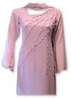 Tea Pink Georgette Suit- Pakistani Casual Clothes