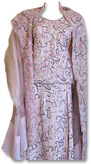 Pink Raw Silk Lehnga- Pakistani Bridal Dress