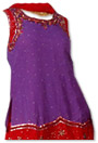 Dark Purple/Maroon Georgette Trouser Suit- Indian Semi Party Dress