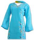 Light Blue Georgette Trouser Suit- Indian Dress