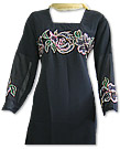 Black/Skin Georgette Suit- Indian Dress