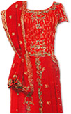 Red Silk Lehnga