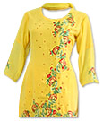 Yellow Georgette Suit - Pakistani Casual Dress
