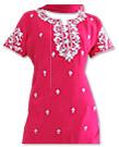 Magenta Georgette Suit    - Pakistani Casual Dress