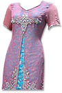 Tea Pink Jamawar Suit