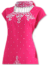 Hot Pink Georgette Trouser Suit- Indian Dress