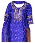 Blue Silk Suit