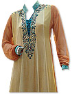 Light Golden/Brown Chiffon Suit- Indian Semi Party Dress