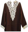 Dark Brown Georgette Suit
