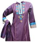 Purple Linen Suit - Pakistani Casual Dress