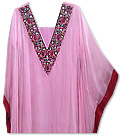 Pink/Red Kaftan Suit - Indian Dress
