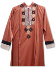Brown/Black Marina Suit- Pakistani Casual Dress