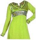 Parrot Green Georgette Suit- Indian Dress
