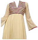 Cream Georgette Suit - Indian Dress