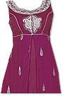 Magenta Georgette Suit