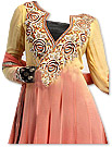 Yellow/Peach Georgette Suit
