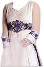 White Chiffon Suit - Indian Dress