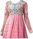 Pink Chiffon Suit - Indian Semi Party Dress